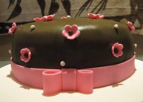 Chocolate & Peanuts cake
